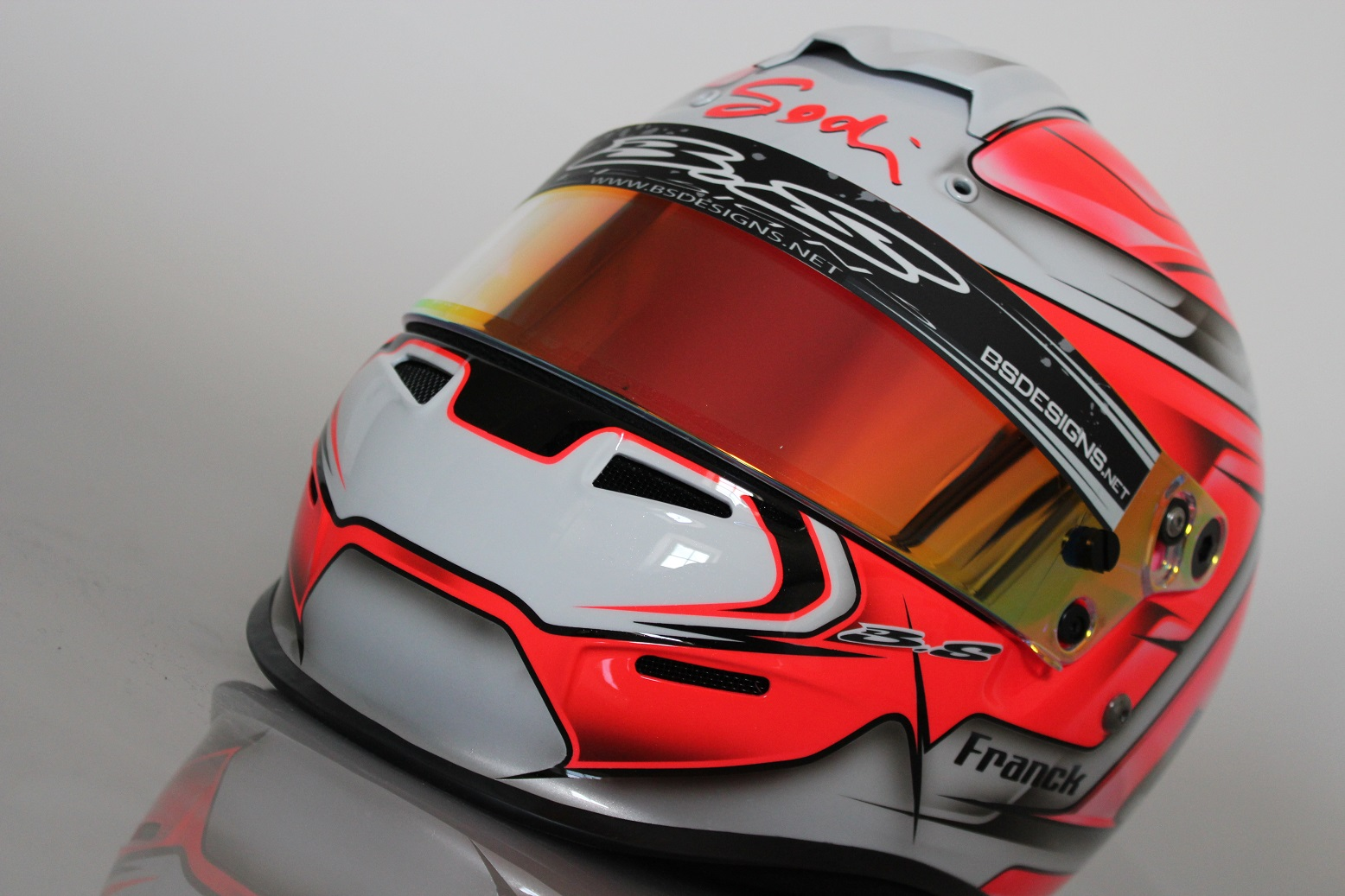 Casque karting